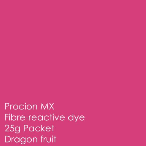Dragon fruit 25g procion MX fibre reactive dye